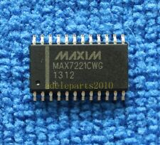 50pcs MAX7221CWG MAX7221 Serially Interfaced, 8-Digit LED Display Drivers