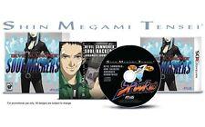 Shin Megami Tensei: Devil Summoner Soul Hackers w/ Music CD [Nintendo 3DS, JRPG]