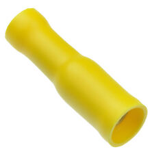 100 x Yellow Female Bullet Insulated Crimp Terminal Connector