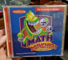 Math Munchers Deluxe -   PC GAME - FREE POST *