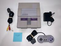 Super Nintendo SNES System (SNS-001) Console, OEM Controller Tested and Clean #3