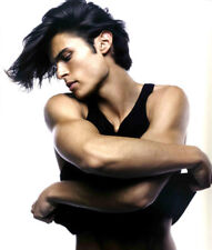 Baptiste Giabiconi UNSIGNED photograph - M2482 - French male model and singer