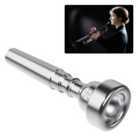 Trumpet Mouthpiece Musical Instrument Accessories Silver Plated 5C Universal