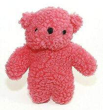 """Dog Toy Plush Fleece Pink Bear Squeaky New All Sizes Dogs 8"""""""