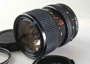 Konica 35-70 f4 zoom-Hexanon lens