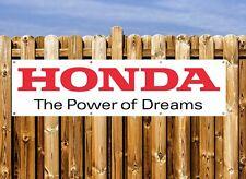 HONDA LOGO  PVC BANNER - FOR WORKSHOP, GARAGE & BEDROOM