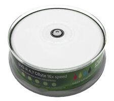 Mediarange DVD-R 4.7Gb 16x Full Face Inkjet Printable 25 Spindle/Cake Box