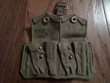 WWII BRITISH MILITARY PATTERN 37 ENFIELD AMMO POUCH DATED 1942 M.W&S LTD 1941