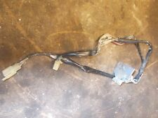 1984 Honda GL1200 GL 1200 Goldwing Auxiliary Outlet Port Plug with wiring