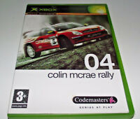 Colin McRae Rally 04 XBOX Original PAL *Complete*