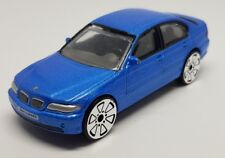 Realtoy BMW 3 SERIES Blue 1:59 75mm Long Diecast Car Collectable Big Wheels VGC