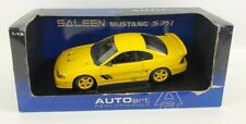 AUTO ART 1998 FORD SALEEN MUSTANG S351 YELLOW COUPE 1/18
