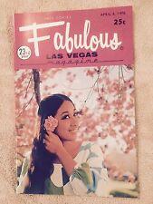 Fabulous Las Vegas Magazine Trini Lopez Brigitte Eisner On Cover 4/4/1970