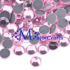 1440pcs Light Rose Pink 2mm ss6 Flat Back Glass DMC A+ Hotfix Rhinestones C57