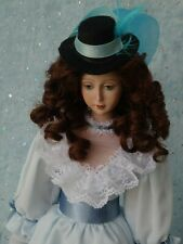 "Lady Marion - OOAK - 17"" Porcelain Doll - from Betty Bailey mold Lincoln - MAFD"