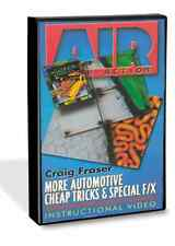 More Automotive Cheap Tricks & Special F/X with Craig Fraser DVD Airbrush Action