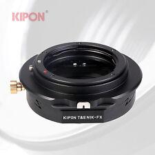 Kipon Tilt Shift Adapter for Nikon F AI Lens to Fuji X-Pro1 X-E1 X-1 X-M1 Camera