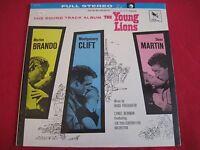 SEALED SOUNDTRACK LP - THE YOUNG LIONS - MARLON BRANDO - FRIEDHOFER/NEWMAN