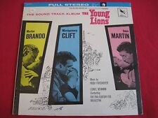 SEALED SOUNDTRACK LP - THE YOUNG LIONS - MARLON BRANDO - FRIEDHOFER/NEWMAN