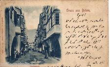 #BRIXEN- GRUSS AUS - STADTGASSE-- 1898