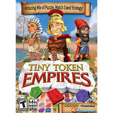 Tiny Token Empires game for PC and MAC SHOPWORN SLIPCOVER