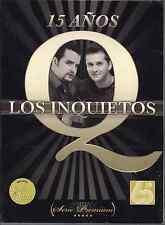 Promo only video CLIPS 2CD+dvd LOS INQUIETOS 15 años VOLVER ven tu + KARAOKE