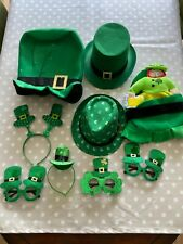 Joblot St Patrick's Day Fancy dress/photography props - hats and glasses
