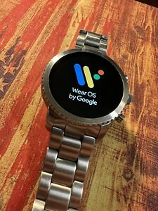 Fossil Q Explorist Gen 3 - Stainless Steel Smartwatch WearOS by Google Large