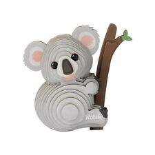 3D koala animal model Diy puzzle wooden toys assembly game For kids adult gift