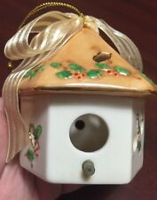 "Gillian Fullard 2002 Bird House Ornament 3.5"" VHTF"