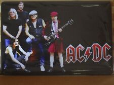 AC/DC Rustic Metal Sign Vintage Tin Shed Garage Bar Man Cave Wall Plaques