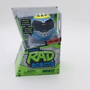 Moose Toys Really Rad Robots Yakbot - S1 Blue Yakbot YB-01 Your Chattin' Buddy!