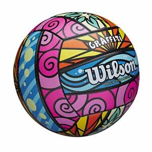 Wilson Graffiti Beach Volleyball Professional Level Official Size/Weight