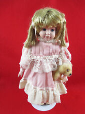 Dynasty Doll Collection Porcelain Musical Doll 16""