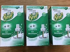 Lot 3 Recharges PYREL sans odeur Diffuseur Électrique Liquide, Anti-Moustiques