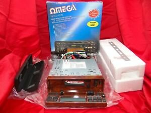 Omega RDS-2EON 90s NEW Boxed Classic Cassette Car Stereo Warranty with Bluetooth