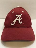 VTG Alabama Crimson Tide Snapback Hat Plain Logo Puma NCAA Cap Snapback 90s