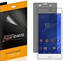 2X Supershieldz Privacy Anti-Spy LCD Screen Protector Shield For Sony Xperia Z3