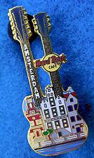 AMSTERDAM DUTCH GABLE CANAL HOUSE STREET FACADE DN GUITAR Hard Rock Cafe PIN LE