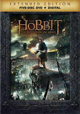 The Hobbit: The Battle of the Five Armies (DVD,2014)