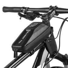 Bicycle bike top frame front pannier saddle tube bag double pouch holder PF
