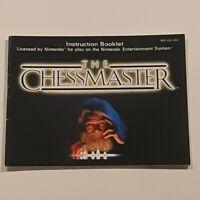 The Chessmaster Instruction Manual Only NES Nintendo