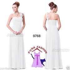 Robes de demoiselle d'honneur blanc sans manches