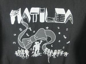 Matilda Musical Stage Play Mens T Shirt Size L Crew Neck Adult Vintage Rare