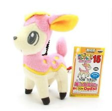 Pokemon Soft Toy Deerling Pokedex 585 Original Banpresto Best Wishes Plush Go