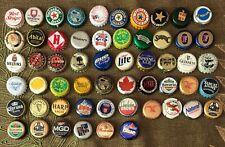 56 Mostly Beer Bottle Caps International