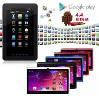 """7""""-Android 4.4 8GB Dual Cameras Quad Core WiFi Kids Child Tablet PC For Gifts J³"""