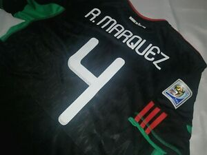 Jersey mexico adidas Rafael Marquez (S) 2010 world cup south africa barcelona