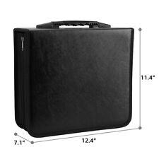Large 520 Discs CDs DVD Wallet Holder Bag Album Organizer Media Case Box Storage