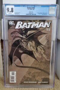 Batman 655 Kubert Variant CGC 9.8 WP 1st Appearance of Damian Wayne